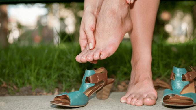 problème talon chaussure homme